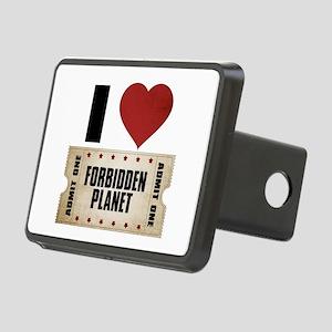 I Heart Forbidden Planet Ticket Rectangular Hitch
