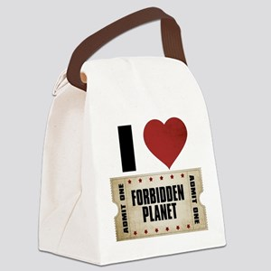 I Heart Forbidden Planet Ticket Canvas Lunch Bag