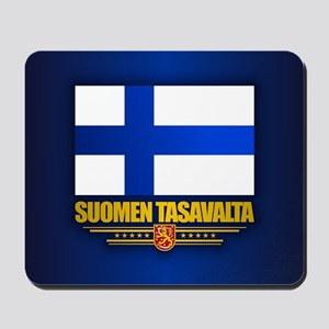 Flag of Finland Mousepad