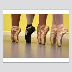Ballet Dancers on Pointe or on Toes Posters