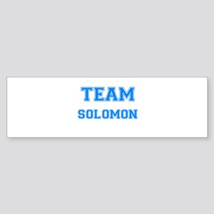 TEAM SOLOMON Bumper Sticker