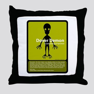 Dover Demon Throw Pillow
