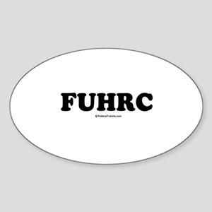 FUHRC Oval Sticker