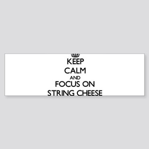 Keep Calm by focusing on String Che Bumper Sticker