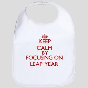 Keep Calm by focusing on Leap Year Bib