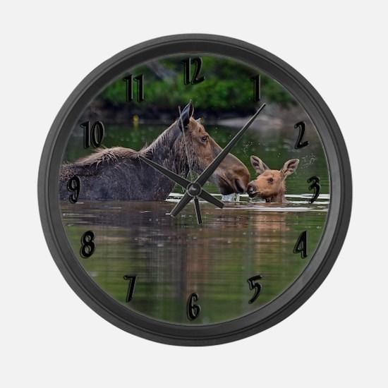Unique Ungulate Large Wall Clock