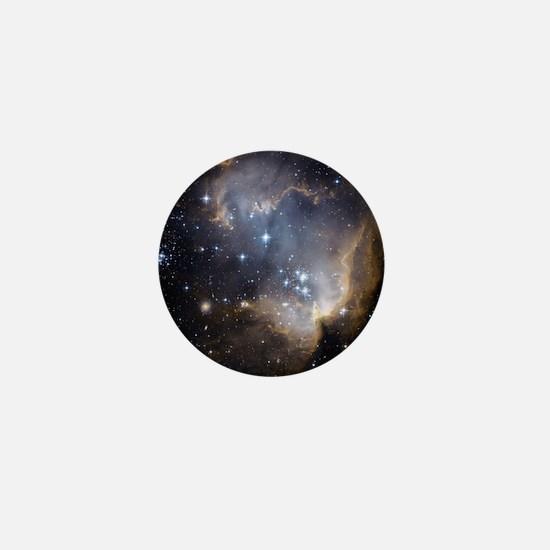 Deep Space Nebula Mini Button