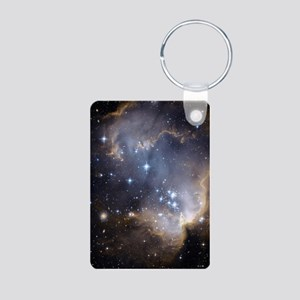 Deep Space Nebula Keychains