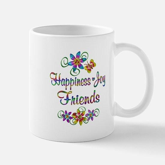 Happiness Joy Friends Mug