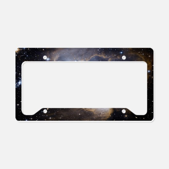 Deep Space Nebula License Plate Holder
