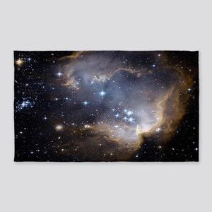 Deep Space Nebula 3'x5' Area Rug