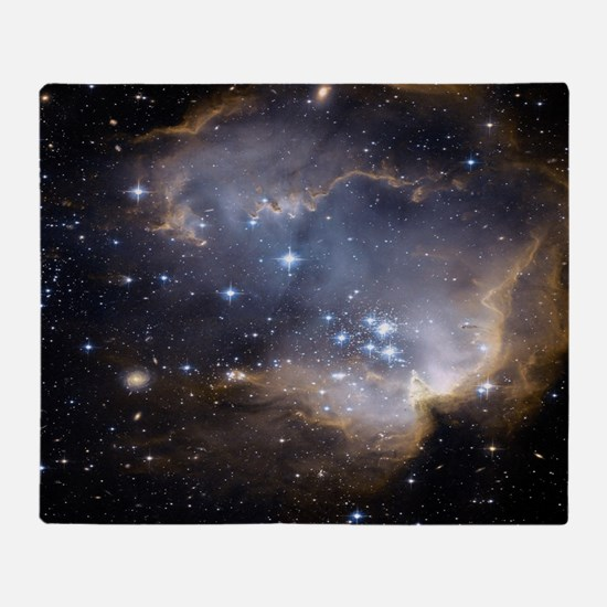 Deep Space Nebula Throw Blanket