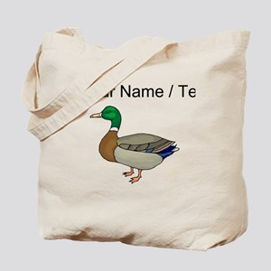 Custom Mallard Duck Tote Bag