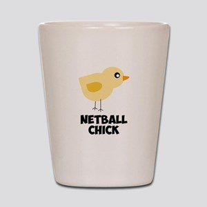 Netball Chick Shot Glass