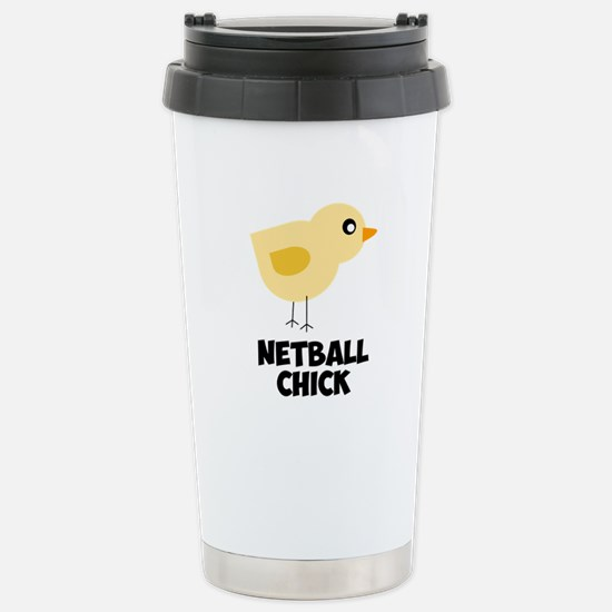 Netball Chick Travel Mug