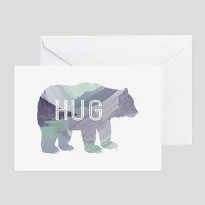 Bear Hug Greeting Cards