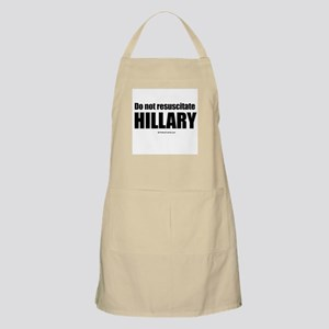 Do not resuscitate Hillary BBQ Apron