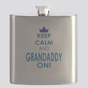 Keep Calm and Grandaddy On Flask
