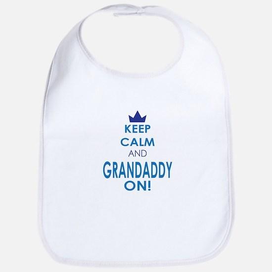 Keep Calm and Grandaddy On Bib