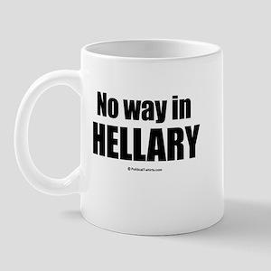 No way in Hellary Mug