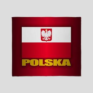 Polska Throw Blanket