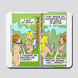 Adam & Eve & Phone Mousepad