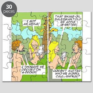 Adam & Eve & Phone Puzzle