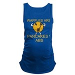 Waffles Are Just Pancakes with Abs Maternity Tank