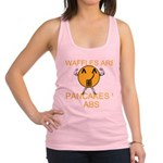 Waffles Are Just Pancakes with Abs Racerback Tank