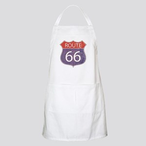 Route 66 Road Sign Apron