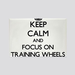 Keep Calm by focusing on Training Wheels Magnets
