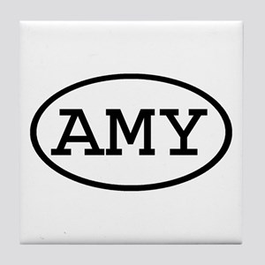 AMY Oval Tile Coaster