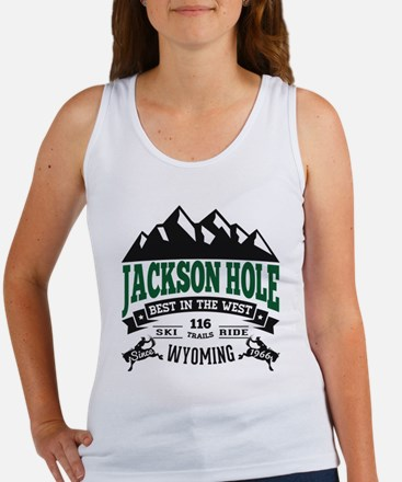 Jackson Hole Vintage Women's Tank Top