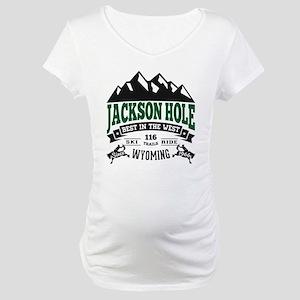 Jackson Hole Vintage Maternity T-Shirt