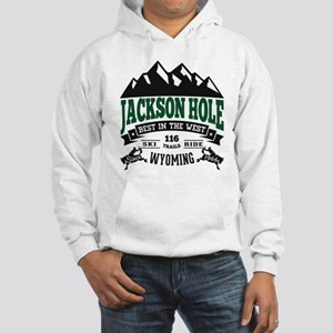 Jackson Hole Vintage Hooded Sweatshirt