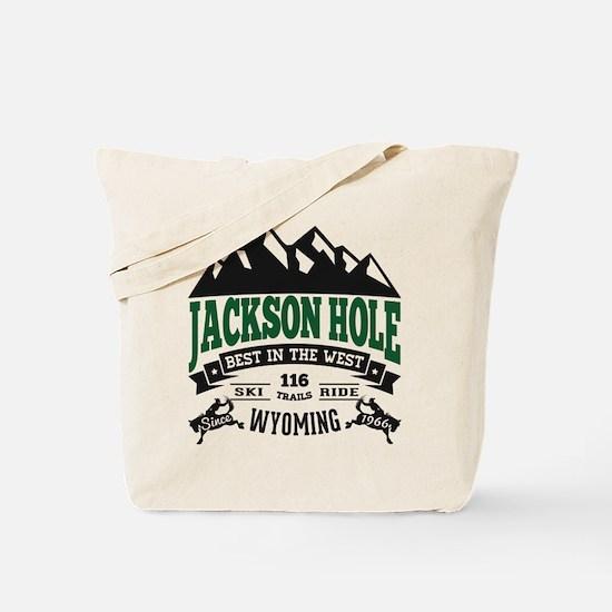 Jackson Hole Vintage Tote Bag