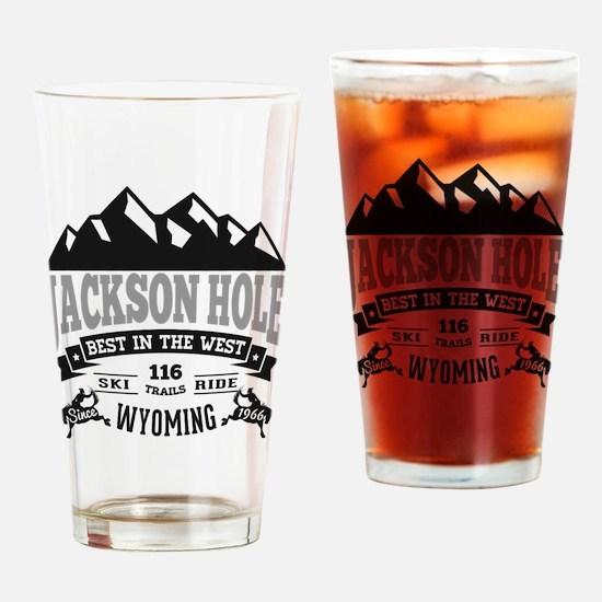 Jackson Hole Vintage Drinking Glass