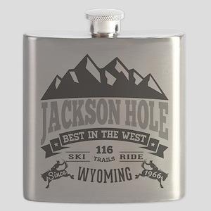 Jackson Hole Vintage Flask