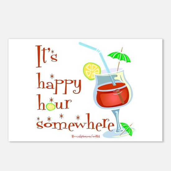 It's 5 O'Clock Somewhere Postcards (Package of 8)