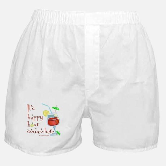 It's 5 O'Clock Somewhere Boxer Shorts