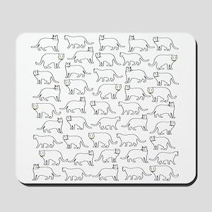 Cute kitty Mousepad