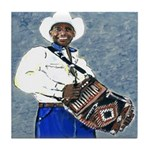 Zydeco Music Tile Coaster