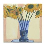 Sunflowers Tile Coaster