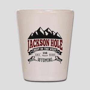 Jackson Hole Vintage Shot Glass