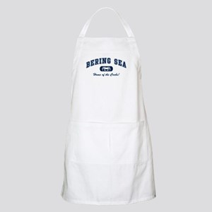 Bering Sea Home of the Crabs! Navy BBQ Apron