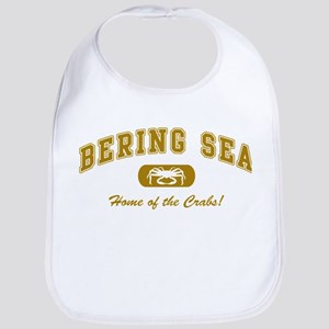 Bering Sea Home of the Crabs! Gold Bib
