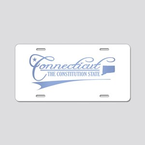 Connecticut State of Mine Aluminum License Plate