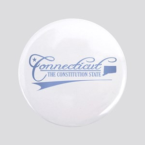"Connecticut State of Mine 3.5"" Button"