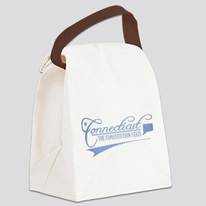 Connecticut State of Mine Canvas Lunch Bag
