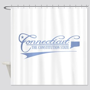 Connecticut State of Mine Shower Curtain